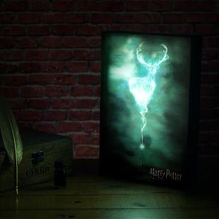 Caja luminosa Patronus Harry Potter