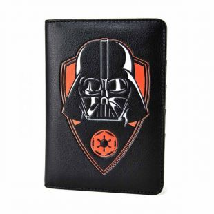 Cartera Porta Pasaporte Darth Vader Star Wars