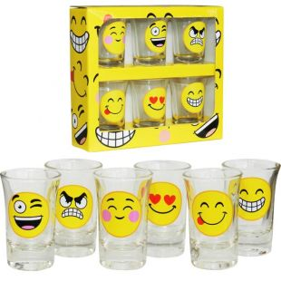 Chupitos de Emoticonos (Pack de 6)