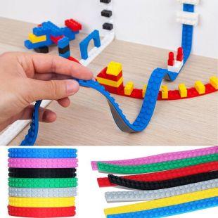 Cinta adhesiva compatible con LEGO y Mega Bloks