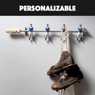 Colgador Artesanal Futbolín personalizable