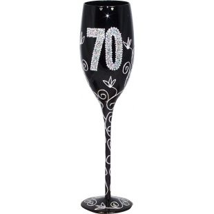 Copa Champagne negra 70 años