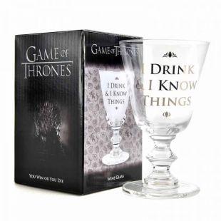 Copa Tyrion - I Drink and i Know things - de Juego de Tronos