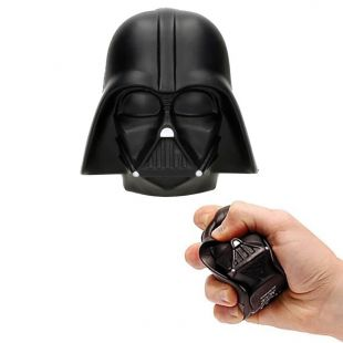 Figura antiestrés 9cm casco Darth Vader, de Star Wars