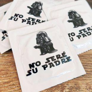 Condón, preservativo No seré su padre (parodia de Darth Vader)