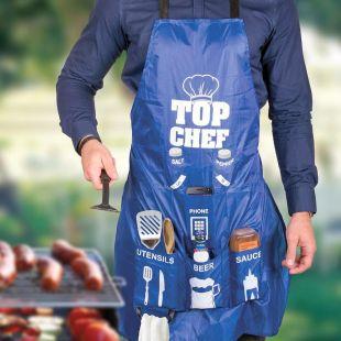 Delantal Top Chef, para hombres