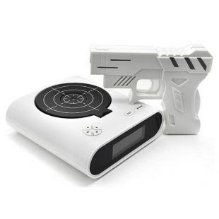 Despertador pistola láser con diana