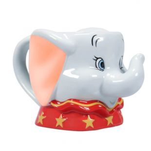 Taza con relieve Dumbo de Disney