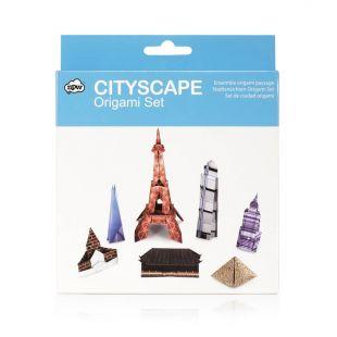 Set Edificios famosos de Origami, papiroflexia (10 modelos)