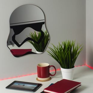 Espejo casco StormTrooper de Star Wars