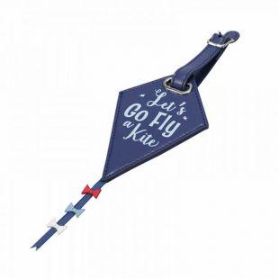 Etiqueta para maletas cometa de Mary Poppins