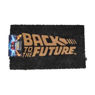 Felpudo logo original de Regreso al Futuro