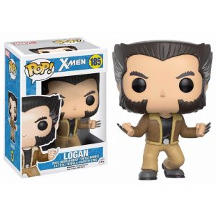 Figura Funko Pop! Logan, Lobezno (Wolverine) de X-Men