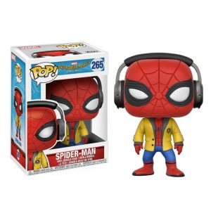 Figura Funko Pop! Spiderman con cascos, de Marvel