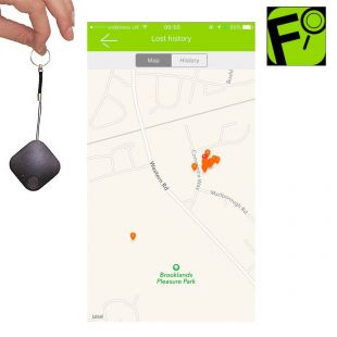 Find It, llavero mini dispositivo de rastreo