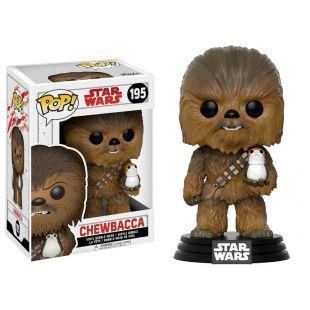 Figura Funko Pop! Chewbacca con un Porg