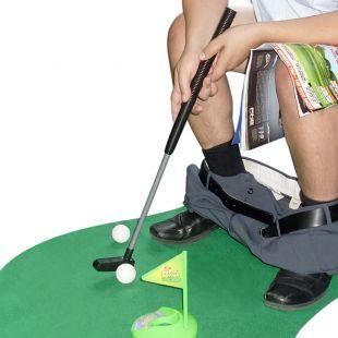 Kit juego de golf para WC y el cuarto de baño