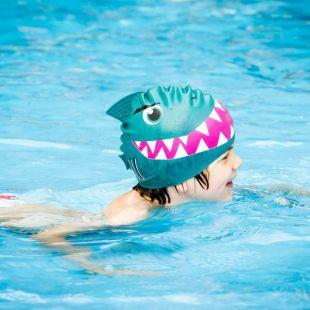 Gorro de natación infantil, Tiburón