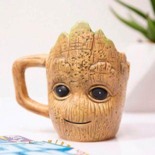 Taza 3D baby Groot, de Guardianes de la Galaxia