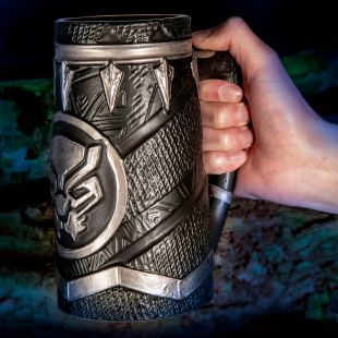 Jarra de cerveza premium Black Panther