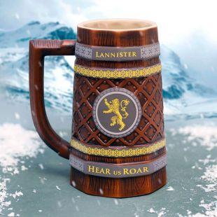 Jarra de Cerveza Lannister Juego de Tronos