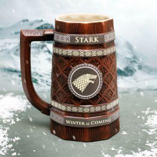 Jarra de Cerveza Stark Juego de Tronos