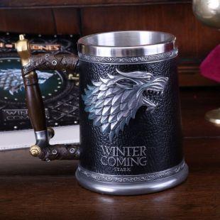 Jarra Deluxe Stark Winter is Coming de Juego de Tronos