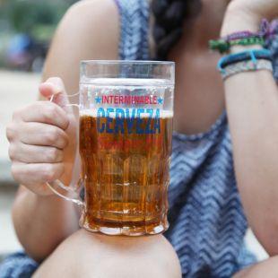 Jarra enfriadora de cerveza, interminable