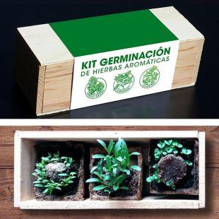 Kit autocultivo de hierbas aromáticas