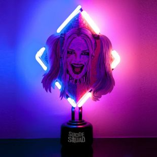 Lámpara de neón Harley Quinn DC Comics