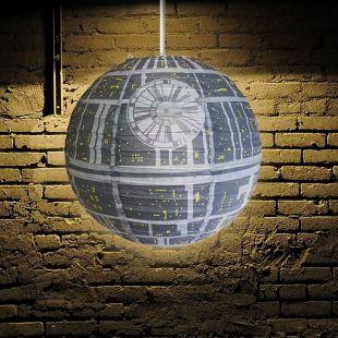 Lámpara de Papel Estrella de la Muerte