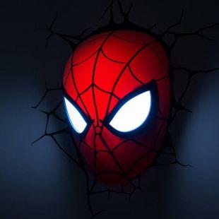 Lámpara ambiental 3D Spiderman