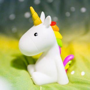 Lámpara Unicornio cambia entre 5 colores