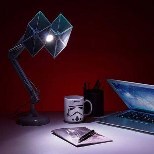 Lámpara flexo modelo Tie Fighter de Star Wars