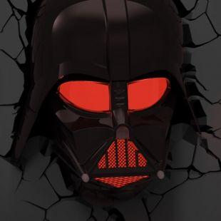 Lámpara ambiental 3D Darth Vader