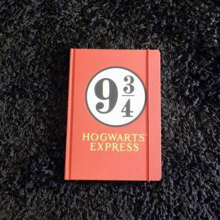 Libreta Hogwarts Express andén 9 y 3/4