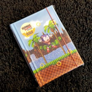 Libreta A5 lenticular de Sonic the Hedgehog modelo anillas