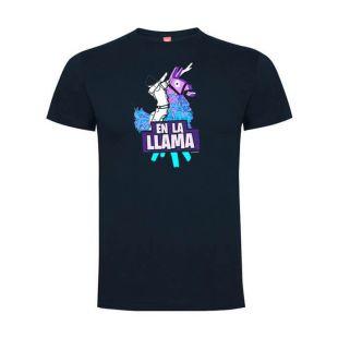 Camiseta Fortnite En la Llama