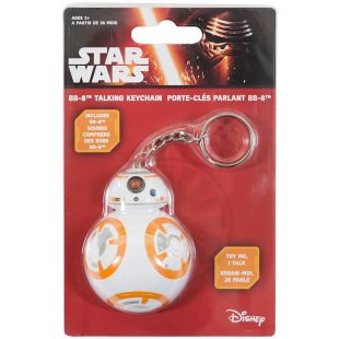 Llavero con sonido Droide BB-8 de Star Wars