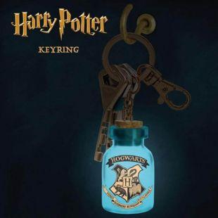 Llavero tarro con luz pócima Hogwarts de Harry Potter