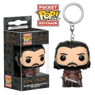Llavero Pocket Pop! John Snow de Juego de Tronos