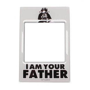 Marco de fotos para nevera Darth Vader, Yo soy tu padre, de Star Wars