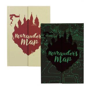 Libreta A5 Mapa del Merodeador de Harry Potter