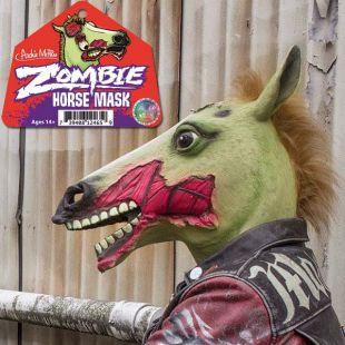 Cabeza de caballo Zombie, fosforescente