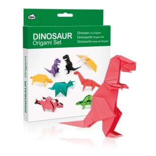 Set para hacer diferentes Dinosaurios de Origami