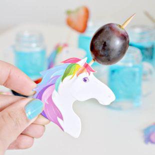 Palillos Unicornio (Pack 24)