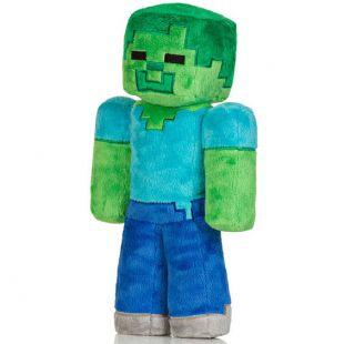 Peluche Minecraft, Zombie (30 cm.)