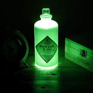 Lámpara botella con poción mágica de Harry Potter