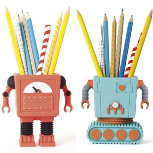 Portalápices Robot