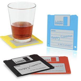 Posavasos Floppy Disk (Pack 4)